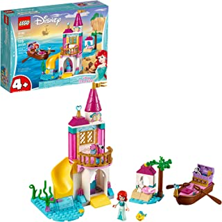 LEGO Disney Ariel's Seaside Castle 41160 4+ Building Kit, 2019 (115 Pieces)