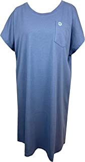 Sestra Care Solution Women's Open Back Night Shirt Cup Sleeve
