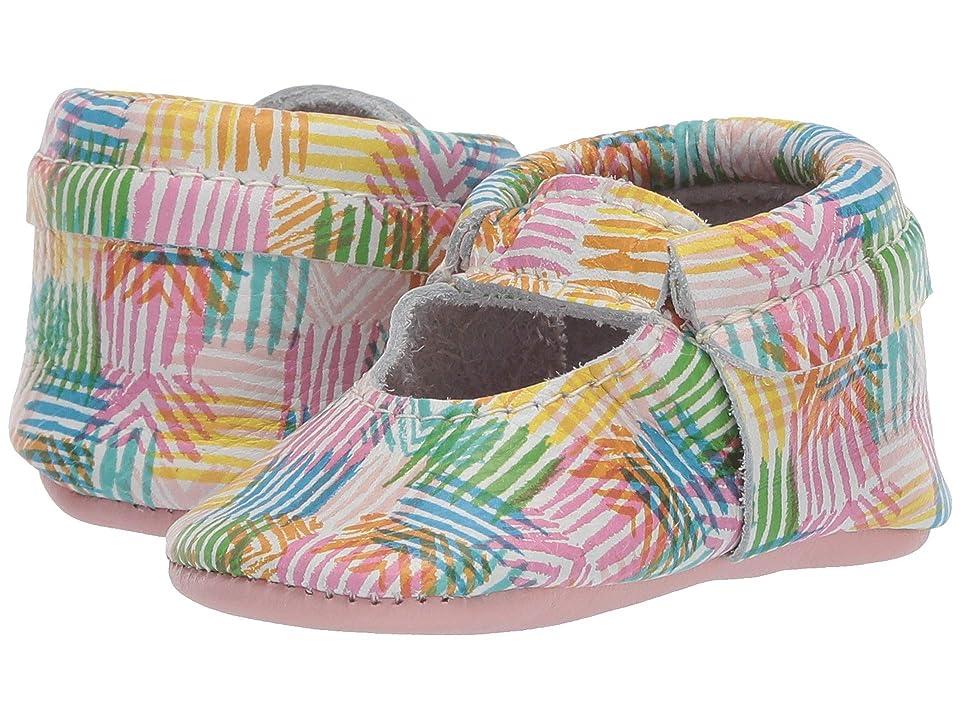 Freshly Picked Soft Sole Ballet Flat Color Safari (Infant/Toddler) (Safari Stripe) Girl