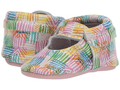 Freshly Picked Soft Sole Ballet Flat Color Safari (Infant/Toddler) (Safari Stripe) Girl