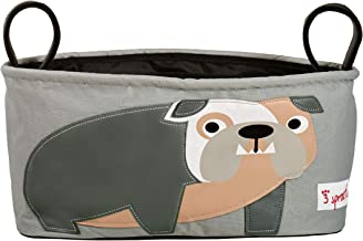 3 sprouts stroller organizer bulldog