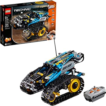 LEGO Technic Remote Controlled Stunt Racer 42095 Building Kit (324 Pieces)