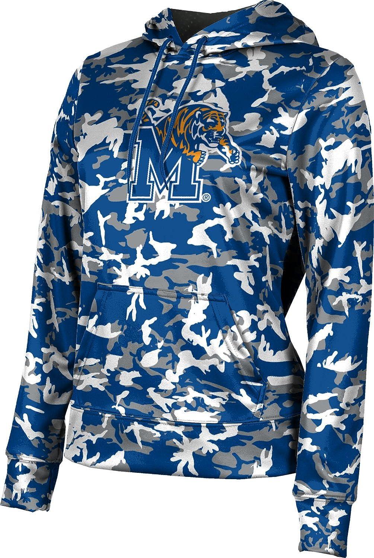 ProSphere University of Memphis Girls' Pullover Hoodie, School Spirit Sweatshirt (Camo)