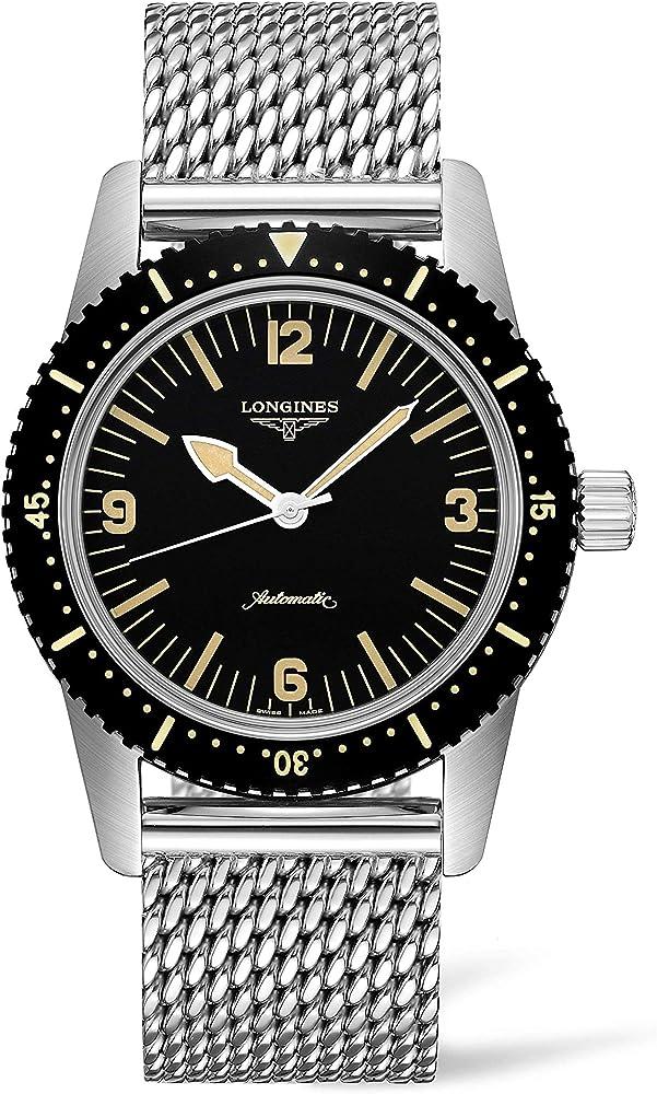 Longines orologio uomo the longines skin diver watch 42mm automatico in acciaio L2.822.4.56.6