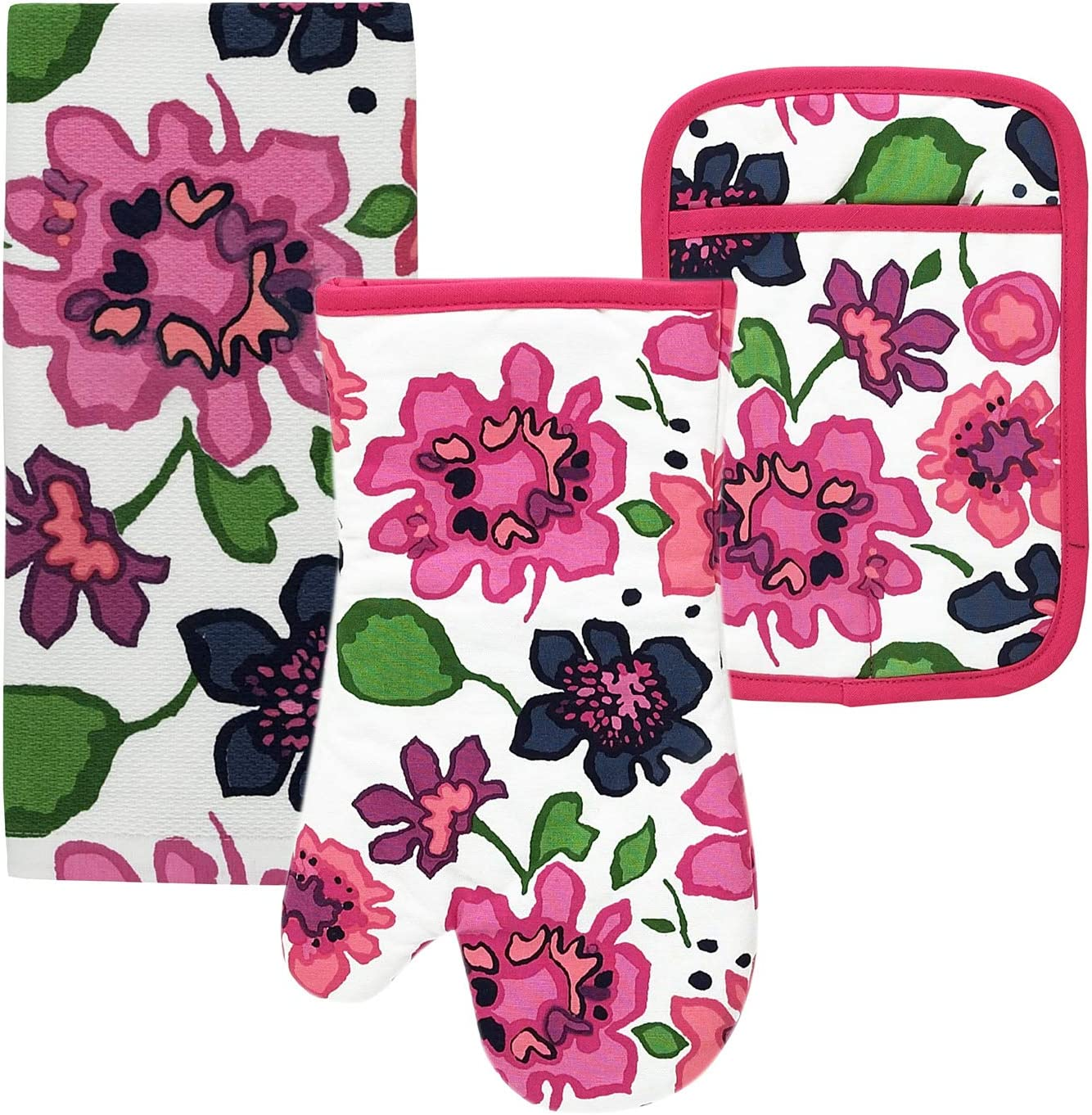 Store Kate Spade Floral Blockprint Kitchen Towel and Manufacturer direct delivery Oven H Pot Mitt