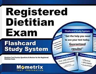 Registered Dietitian Exam Flashcard Study System: Dietitian Test Practice Questions & Review for the Registered Dietitian Exam
