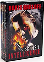 Boris Karloff Rarities Collection Juggernaut / British Intelligence / Sabaka