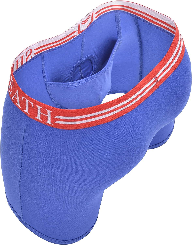 SHEATH Men's Underwear with Dual Pouch 4.0 Boxer Briefs