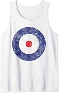 Roundel Type A | Royal Flying Corps | Vintage RFC Roundels Tank Top