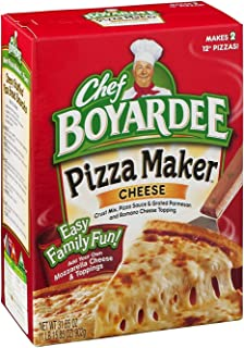 Chef Boyardee, Cheese Pizza Kit, Makes 2 Pizzas, 31.85oz Box (Pack of 4)