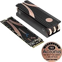 Sabrent 500GB Rocket Nvme PCIe 4.0 M.2 2280 SSD Interno Unidad de Estado sólido de máximo Rendimiento con disipador térmico (SB-ROCKET-NVMe4-HTSK-500)