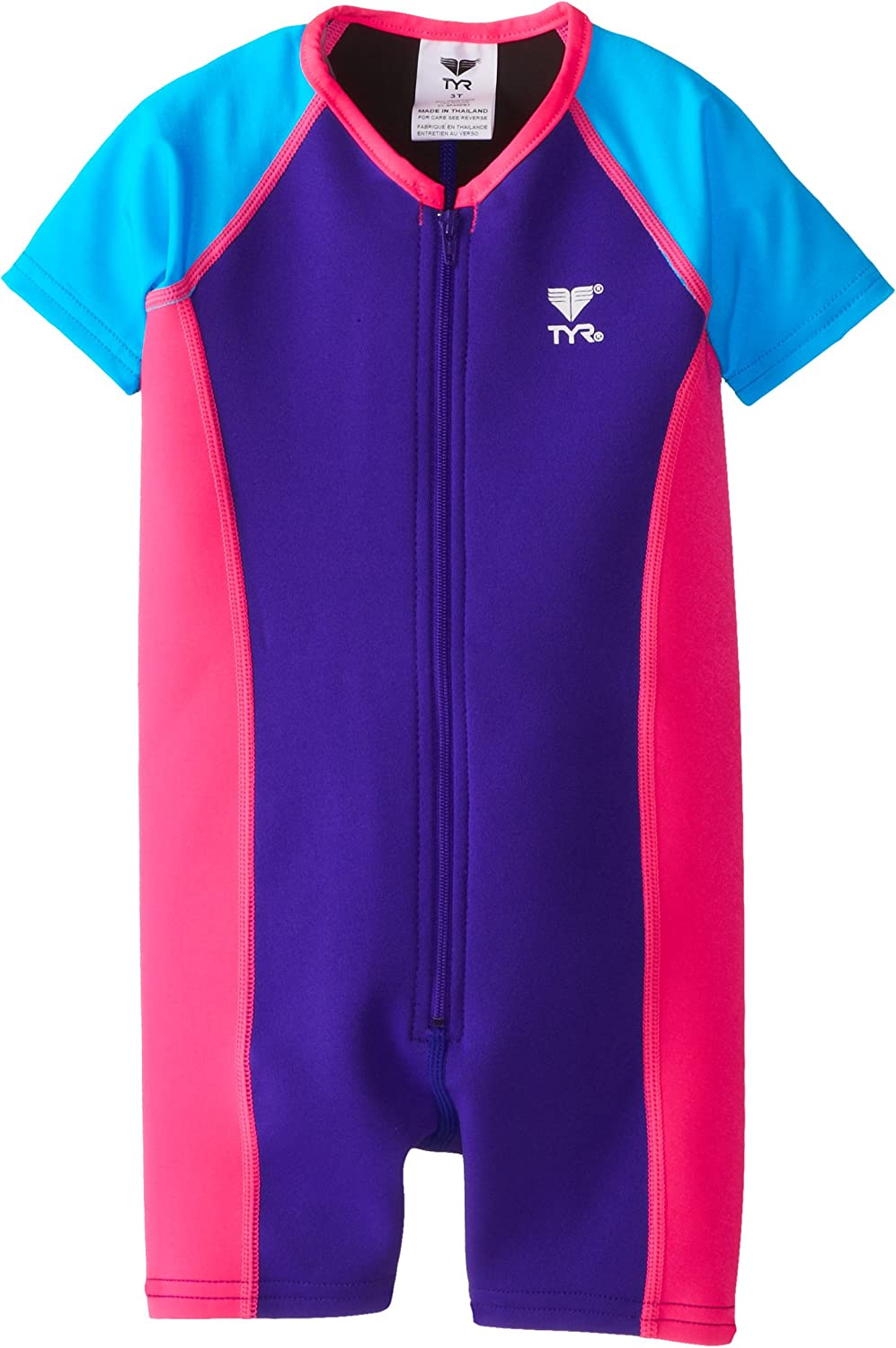 TYR Sport Girls Solid Thermal Toddler//Little Big Kid