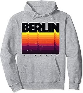 Berlin Hoodie Germany Shirt Distressed Retro Style