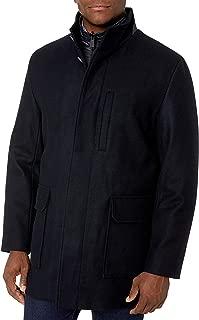 Cole Haan Men's Melton Wool 3 in 1 Car Coat