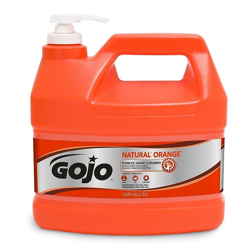 ラフ睡眠調べるカエルGOJO Industries GOJ095504EA Hand Cleaner- Orange Pumice- w-Baby Oil- 1 Gal- Citrus