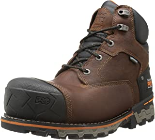 Men's 6 Inch Boondock Comp Toe WP Insulated Industrial Work Boot