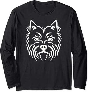 Westie face Long Sleeve T-Shirt