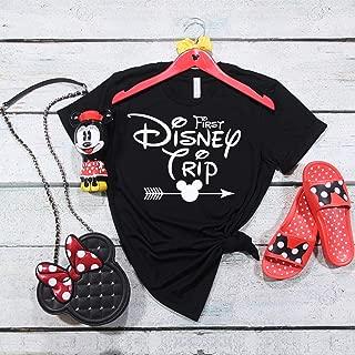 Kids Disney shirts, First Disney Trip, Disney trip, Mickey version, Family trip, matching shirts, arrow shirts
