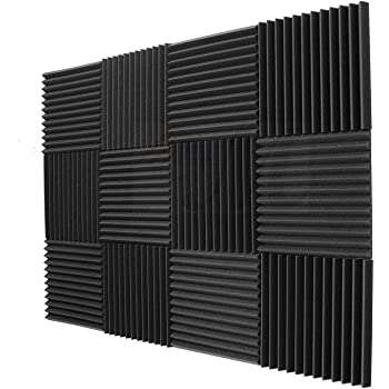 mousse env 50/x 50/x 3/cm anthracite noir mousse /à picots 40/plaques acoustique en mousse env Pyramide Mousse 10/m/²