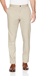 Amazon Essentials Men's Slim-Fit Wrinkle-Resistant Flat-Front Chino Pant