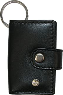 CTM Leather Scan Card Key Chain Wallet (Pack of 3)