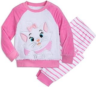 Marie Fuzzy Pajama Set for Kids - The Aristocats Multi