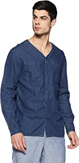 Colt by Unlimited Men's Solid Regular Fit Casual Shirt