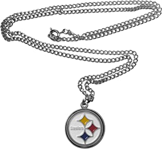 NFL Siskiyou Sports Fan Shop Pittsburgh Steelers Chain Necklace 22 inch Team Color