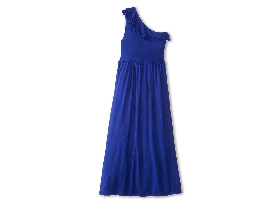 fiveloaves twofish Bedouin Maxi Dress (Little Kids/Big Kids) (Royal) Girl