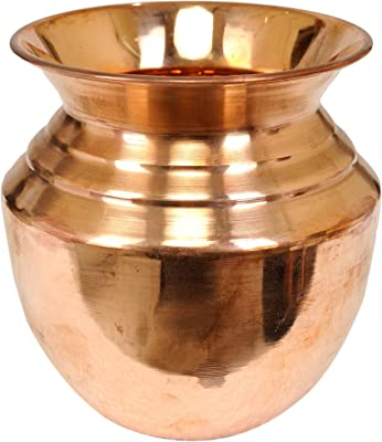 Exotic India Puja Kalash - Copper