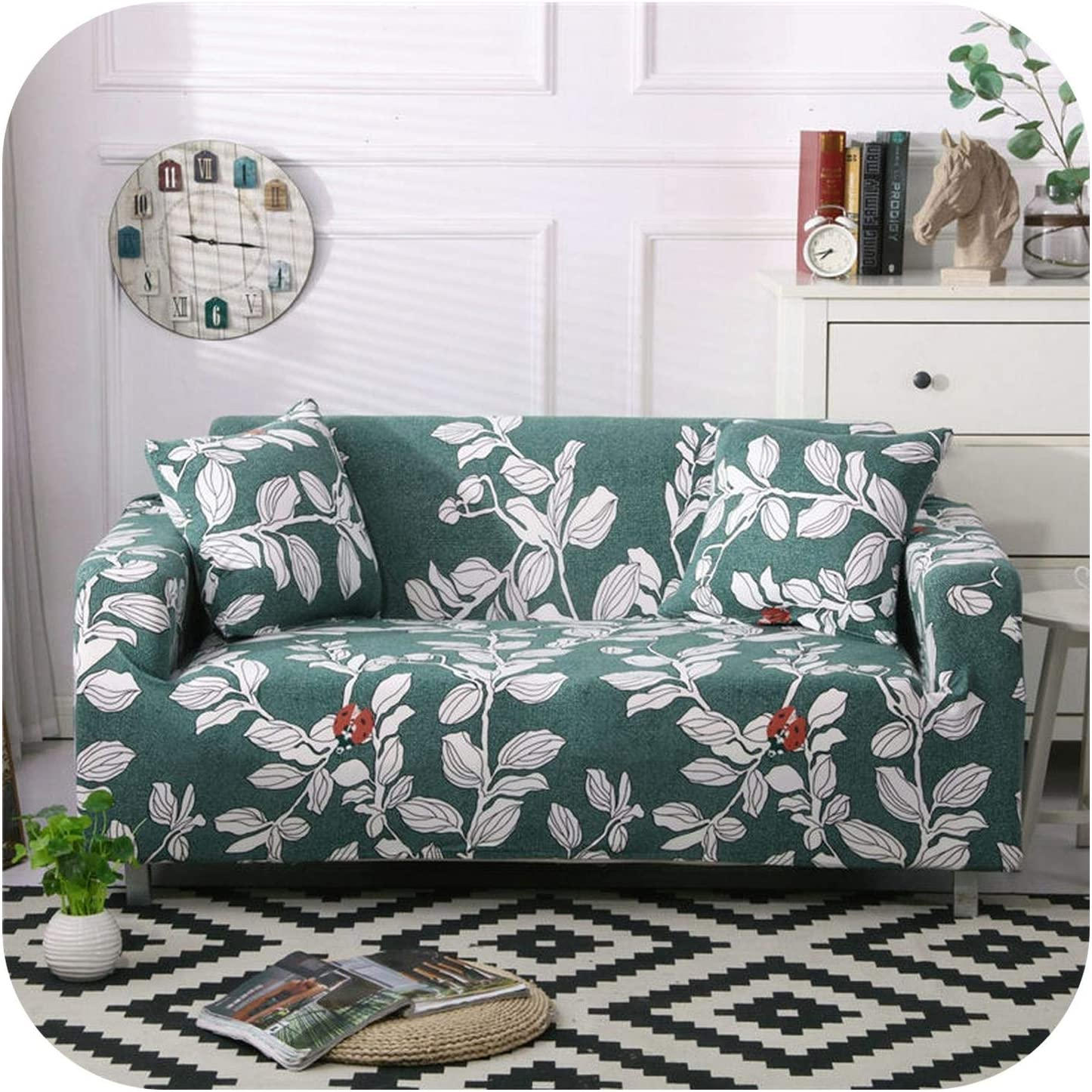 FAT SHEEP Pmxxy Floral Printing Cover Sofa Max 89% OFF Stretch Furni Elastic Limited price sale