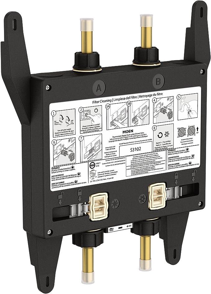Moen S3102 U Digital Shower Valve
