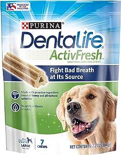 Dentalife Large Dog Treats, 7 Chews,
