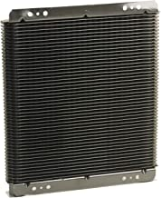 B&M 70274 SuperCooler Black Aluminum Fluid Cooler