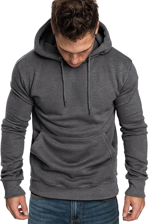 COOFANDY Men's Casual Hoodies Sweatshirts Lightweight Long Sleeves Athletic Pullovers