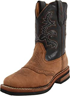 Dan Post Kid's Embroidered Two-Tone Boot