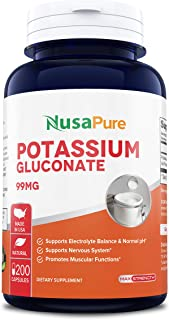Best potassium gluconate vitamin benefits Reviews