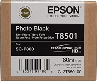 Epson T8501, Ultrachrome Photo Black Ink Cartridge