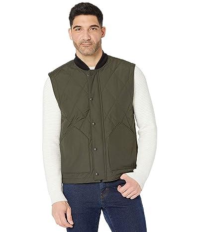 Filson Quilted Pack Vest (Dark Otter Green) Men