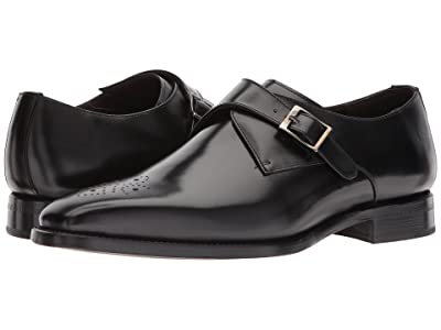 CARLOS by Carlos Santana Puente (Black Full Grain Box Calf) Men