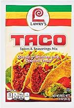 Lawry's Taco Seasoning Mix, 1 oz ( Pack of 12 )