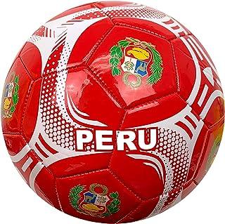 Icon Sports Peru Soccer Ball (Size 5), Pelota de Futbol de Peru