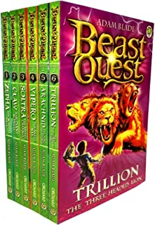 Beast Quest Box Set Series 2 The Golden Armour 6 Books Collection Set (Books 7-12)