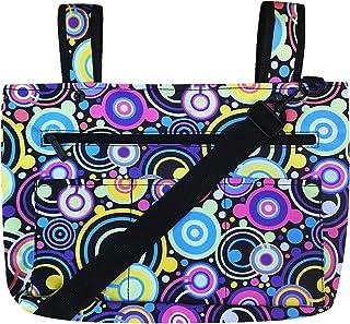Snapster Snap On Tote Bag for Walker, Stroller or Shopping Cart, Shoulder Strap Included (Orbit)