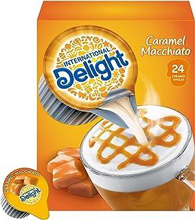 International Delight Coffee Creamer Singles, Caramel Macchiato, 24 Count (Pack of 6)