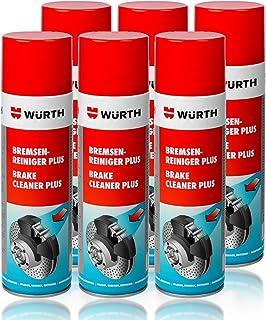 Genuine Wurth freno limpiador disolvente en aerosol spray 500 ml x1
