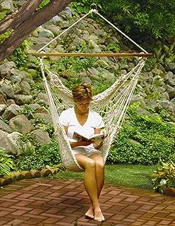 algoma hanging caribbean rope chair