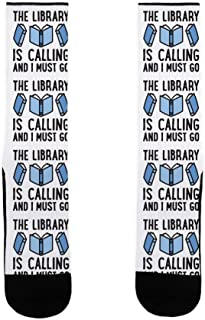The Library Is Calling And I Must Go US Size 7-13 Socks