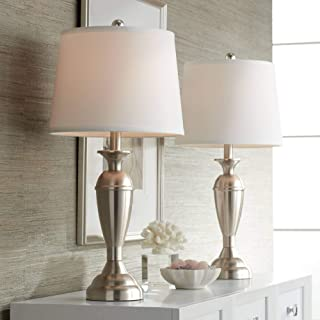 Best silver table lamps set of 2 Reviews