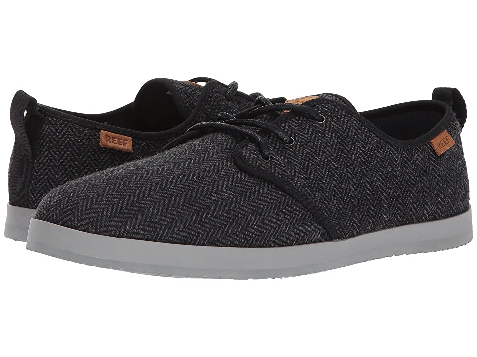 Reef Landis TX (Black/Herringbone) Men